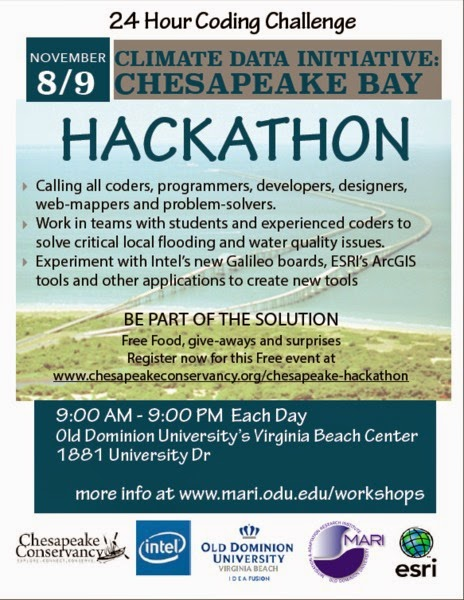 http://www.chesapeakeconservancy.org/chesapeake-hackathon