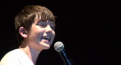 "Greyson Chane in Jakarta Indonesia singing ""WOTL"" - 2012"