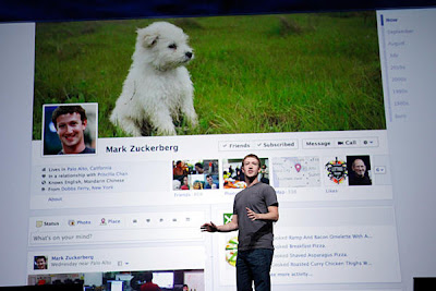 Facebook Message to CEO Mark Zukerberg