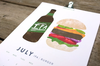 Beer and Food calendar