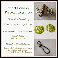 Seed Bead and Metal Blog Hop