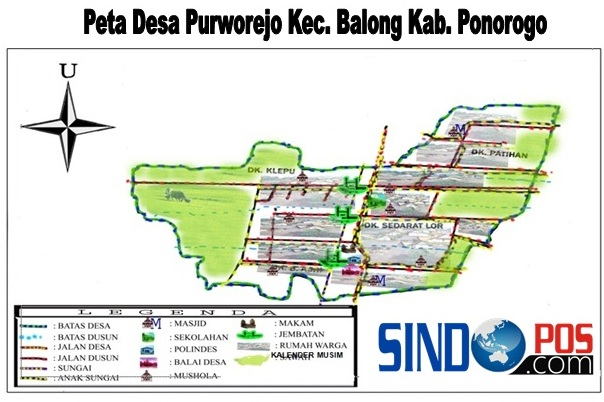Profil Desa & Kelurahan, Desa Purworejo Kecamatan Balong Kabupaten Ponorogo