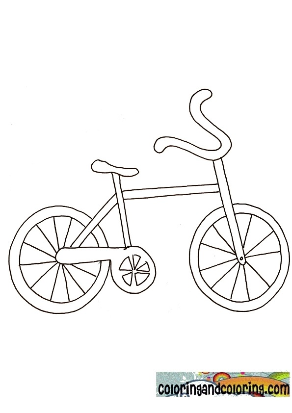 Bicycle Coloring Coloring Pages Coloring Pages Of Bikes