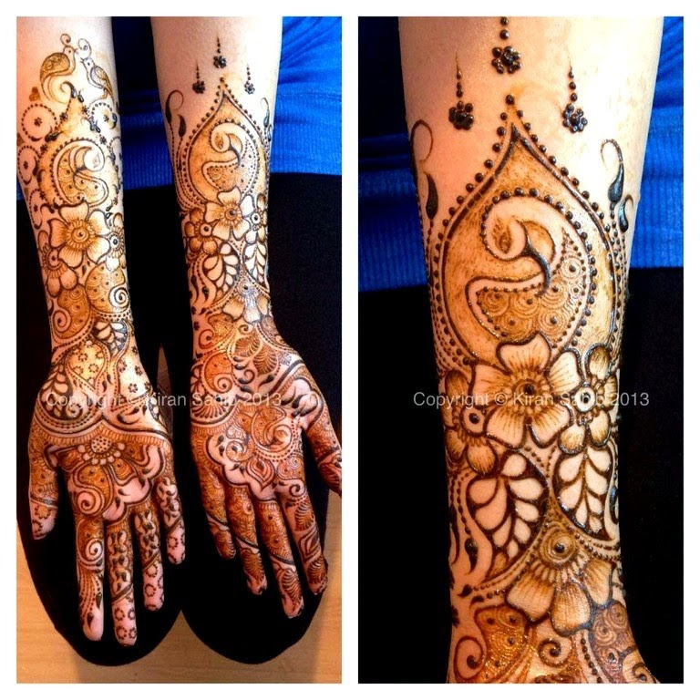 Latest Mehndi Designs Collection 2014