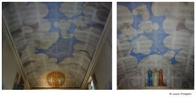 plafond de la chapelle - musée maurice denis © Laura Prospero