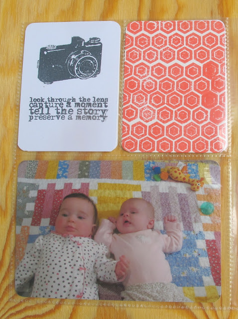 handmade pocket scrapbook kit