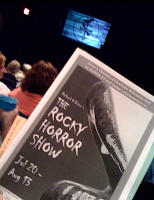 'The Rocky Horror Show' program
