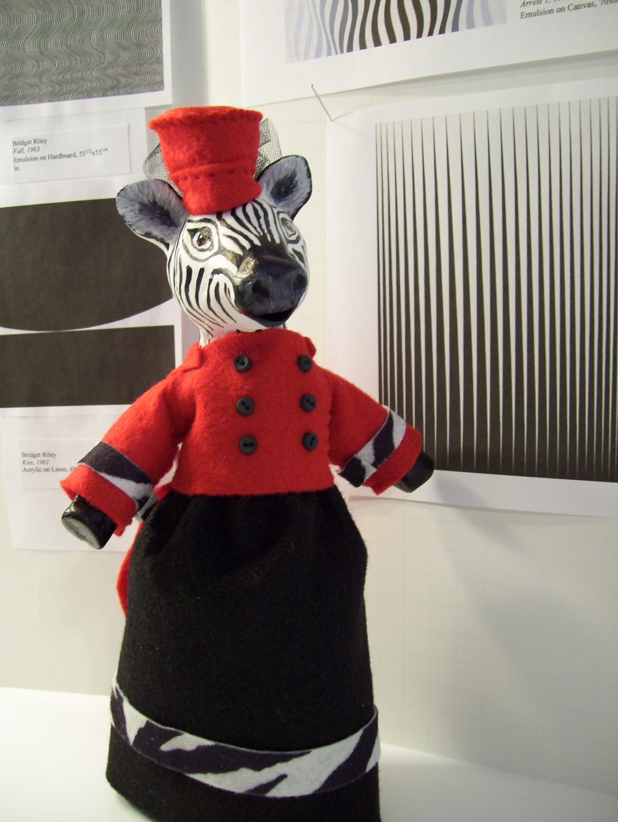 Studio 2137 zara the zebra and op art the lovely zara the zebra she is an admirer of the modern arts from the 1960s the op art or optical art really moves her and its all very groovy thecheapjerseys Gallery