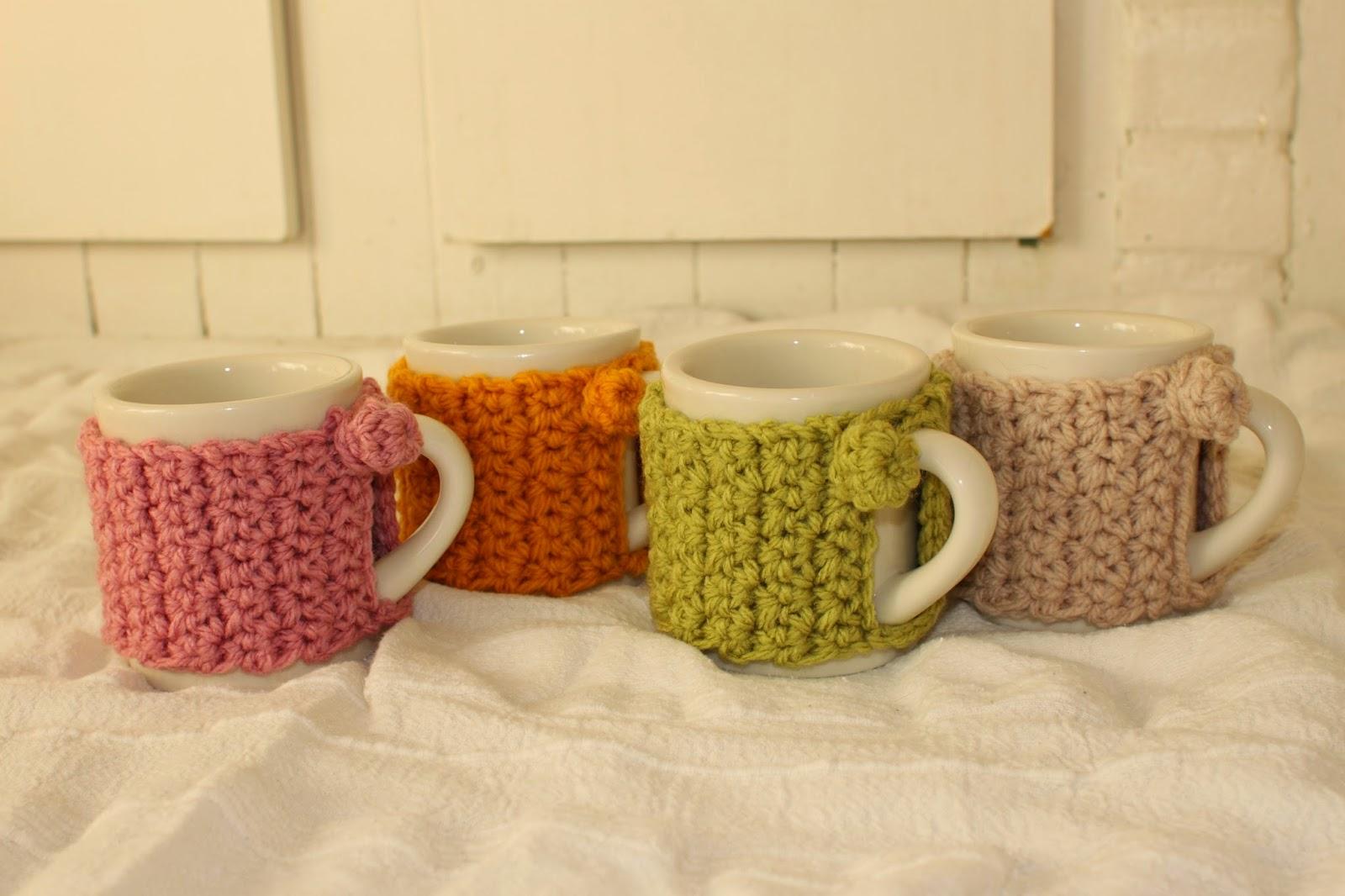 Theodora Goes Wild Crochet Mug Cosy