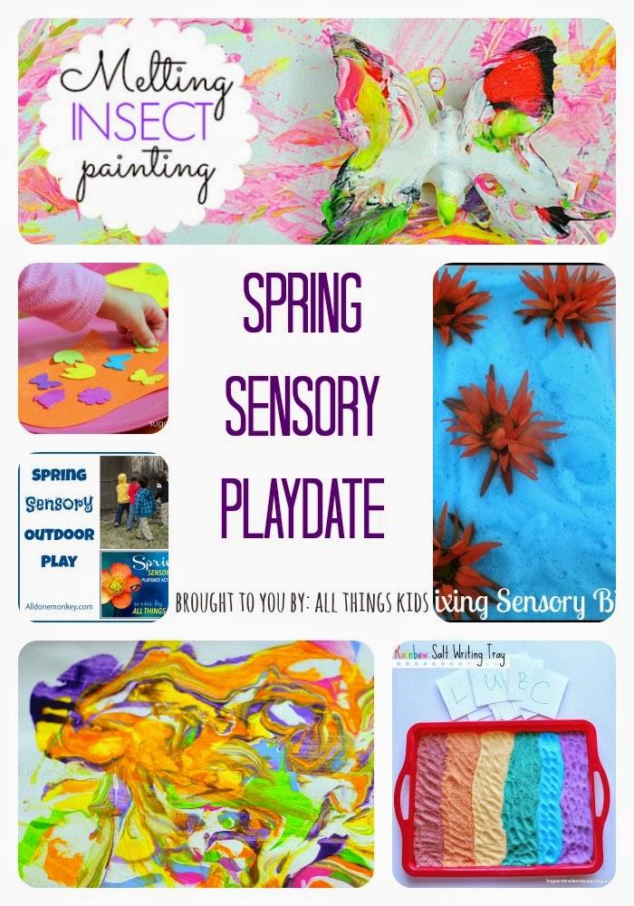 Spring Sensory Playdate Series