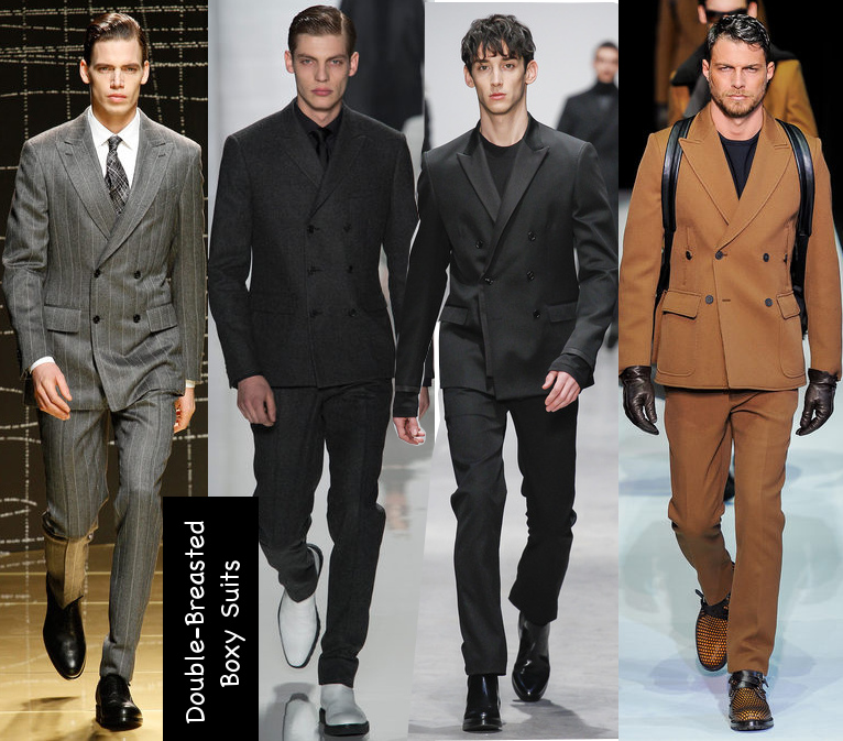 mens fall 2013 boxy suit trends
