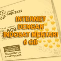 Indosat Mentari 6GB