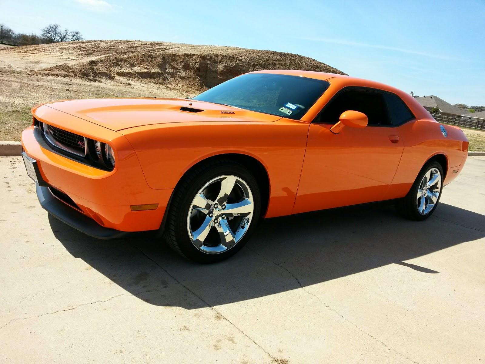 Hemi Orange 2014 Dodge Challenger R T 3k Miles Tdy Sales