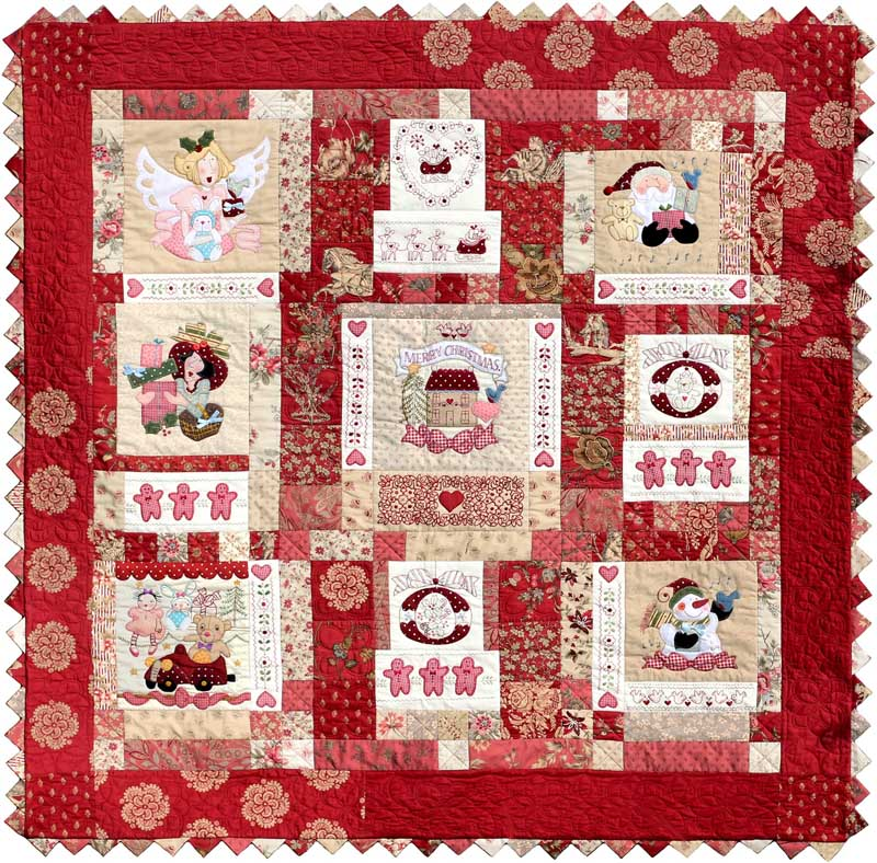 Quilt inspiration christmas around the world australia