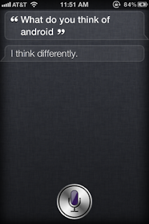 Siri: What do you think of Android?