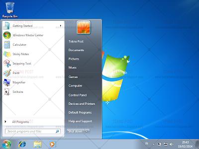 cara mudah install windows 7