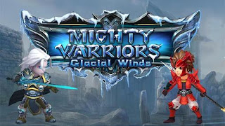 Screenshots of the Mighty warriors Glacial winds for Android tablet, phone.
