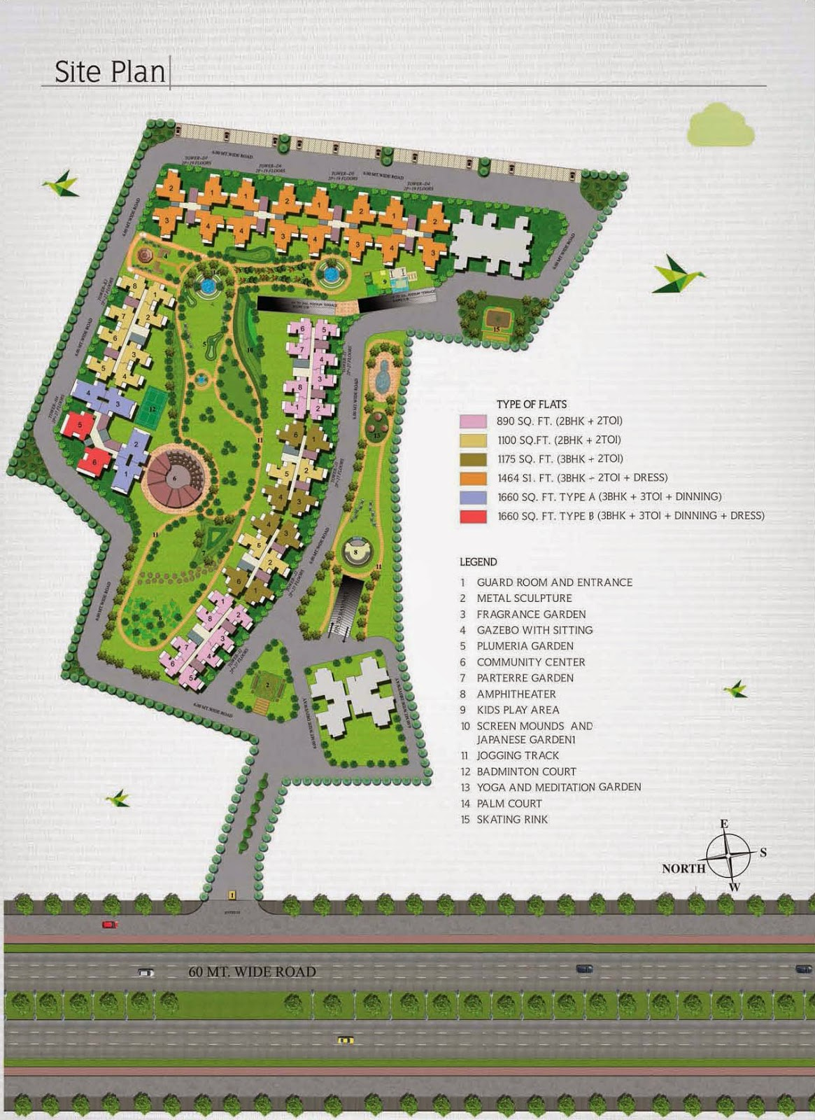 Ecovillage 4 Noida Extension :: Site Plan