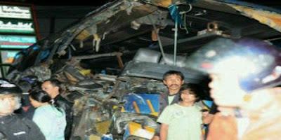 Foto Kecelakaan Maut Puncak