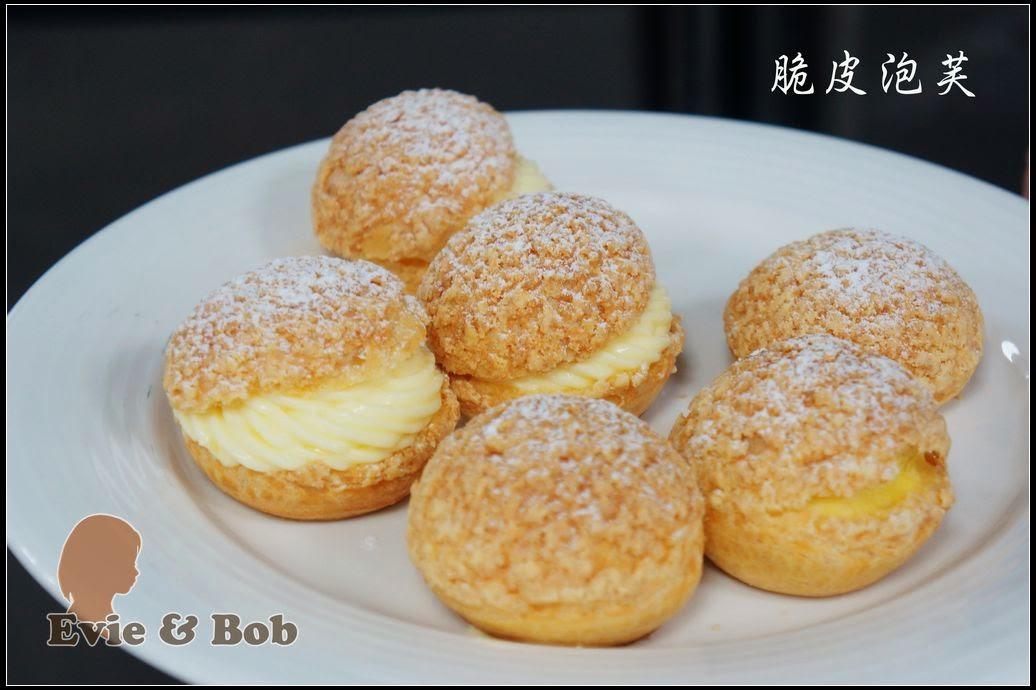 ... and Bob: 烘焙課程筆記 018 - 脆皮泡芙 & 巧克力閃電泡芙