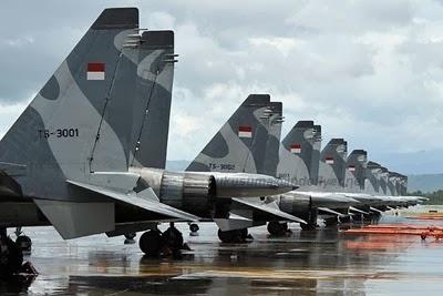 TNI AU persiapkan skuadron tempur Indonesia Timur