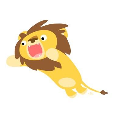 dibujos de leones para imprimir gratis