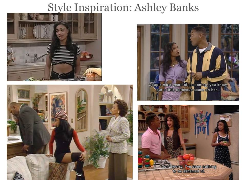 #fresh prince #fresh prince of bel air #ashley #ashley banks #tatyana ali #jaleel white. 16, notes. rrroux. #the fresh prince of bel air #will smith #jazzy jazz #ashley banks #myart #miscart #i've wanted to draw their outfits for so long #plus ashley has the best fashion sense of the show lbr #sighs.