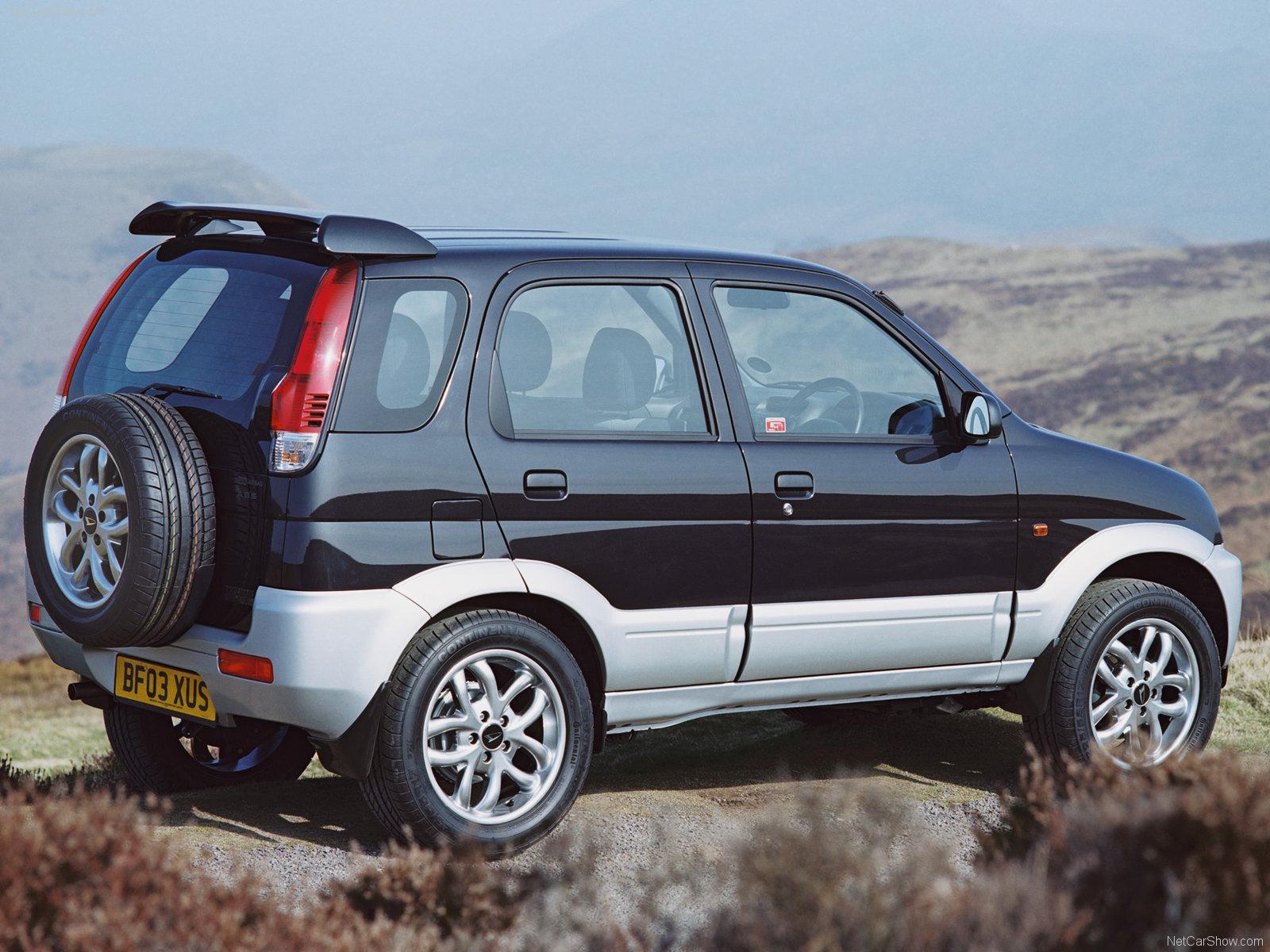 Hình ảnh xe ô tô Daihatsu Terios Sport 2003 & nội ngoại thất