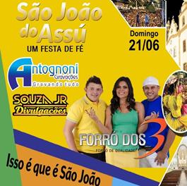 FORRÓ DOS 3 NO SJA 2015