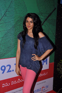 Actress Sakhi Chowdary Pictures in Tight Jeans at Green Ganesh 0002.jpg