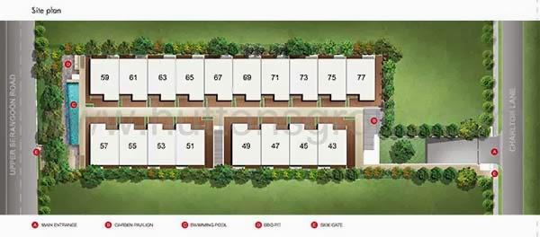Charlton 18 Siteplan