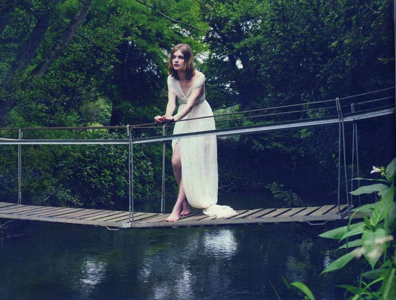 Natalia Vodianova in Madame Figaro August 2008 (photography: Sofia Sanchez & Mauro Mongiello) via fashioned by love british fashion blog