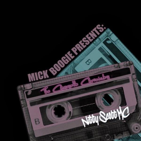 Nitty Scott, MC - The Cassette Chronicles  Cover