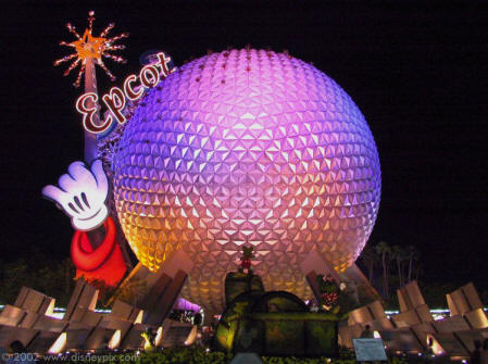 Park Epcot Center Disney Orlando