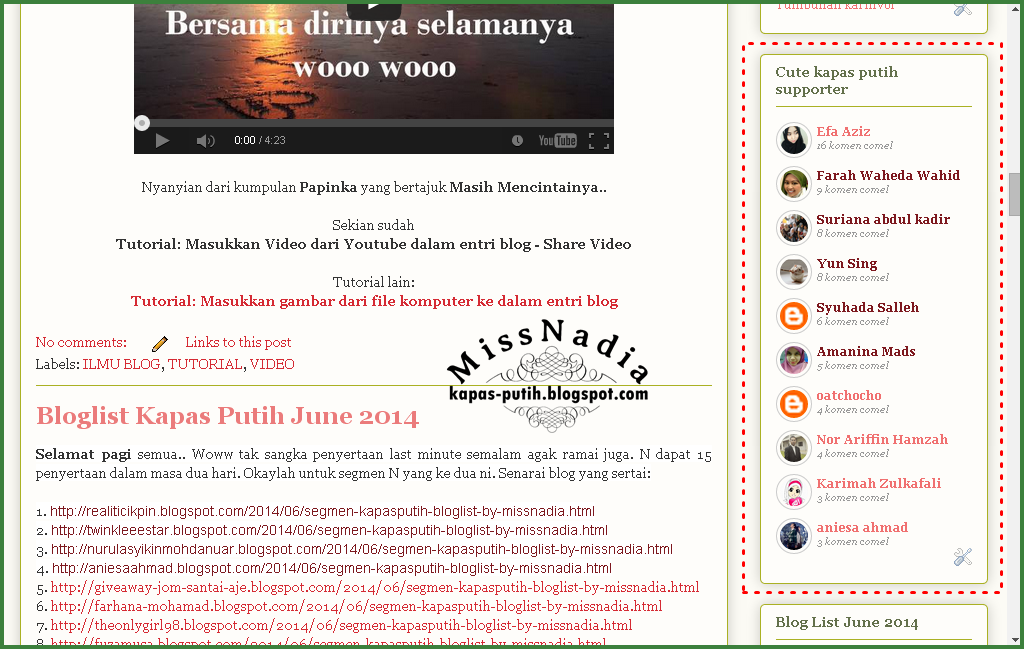 Idea untuk blogwalking