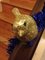 Sparkle sparrow, glitter, bird, glitter bird, glitter decorations, decoration, Christmas decoration