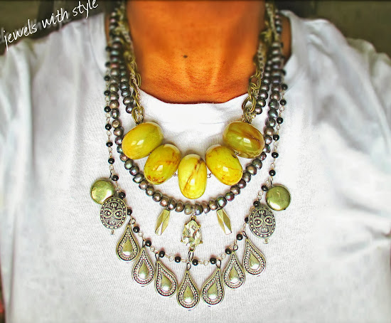 style, fashion blogger, style advice, M Renee Design, Jewels with Style, handmade jewelry, black fashion blogger, handmade necklace, statement necklace, jade necklace, pearl statement necklace