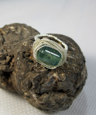 Fluorite Vortex Ring