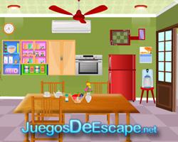 solucion juego Dining Room Escape guia