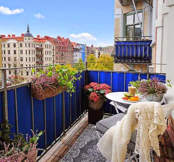 Decorating ideas: amazing decorating ideas for small balcony