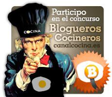 """HE PARTICIPADO EN EL CONCURSO """"BLOGUEROS COCINEROS"""" DE CANAL COCINA !!"""
