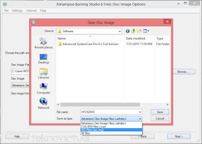 Cara Membuat File ISO dari CD/ DVD 4
