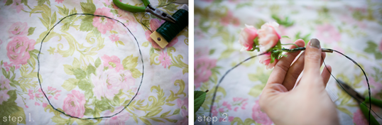 How to DIY beautiful wedding flower crowns