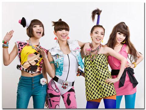 Baru bergaya korea gaya fashion dandanan yang girly bahkan gaya rambut