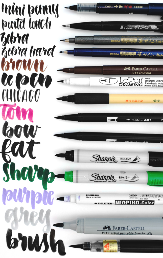 Mini Penny My Favorite Hand Lettering Tools