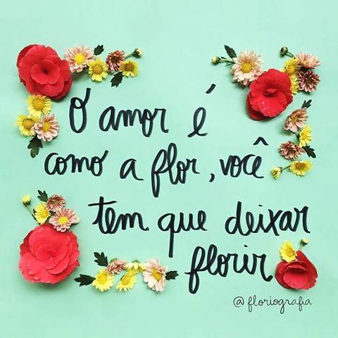 DEIXA FLORIR!!!