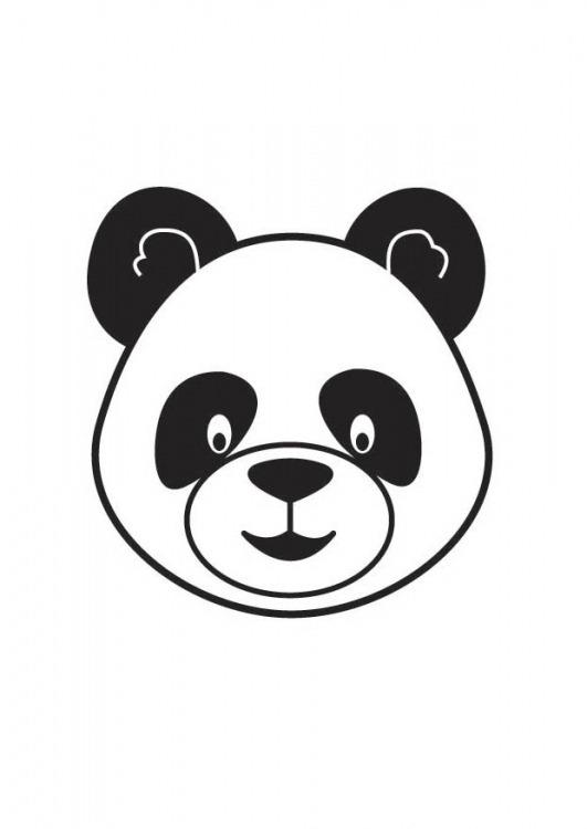 Como hacer un oso panda en foami - Imagui