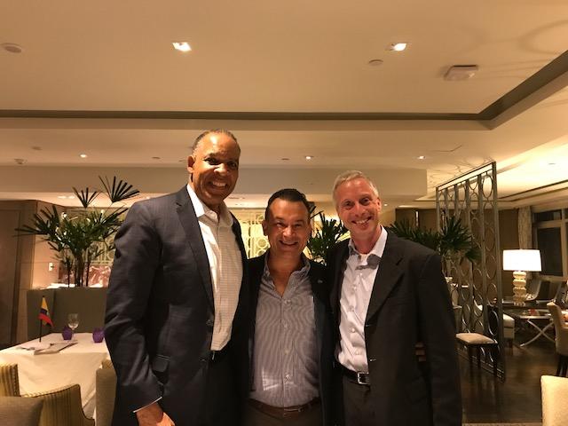 Con Henry (Hank) Jackson, Presidente  & CEO de la  Society for Human Resource Management (SHRM)