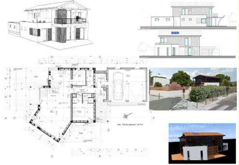 Dossier d 39 ex cution projet confortement maison for Projet maison individuelle
