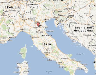 epicentro del terremoto en italia hoy 20 mayo 2012